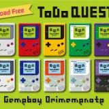 【ダウンロード自由】ゲームボーイ風「折豆ノート」完成しました!全10カラー!